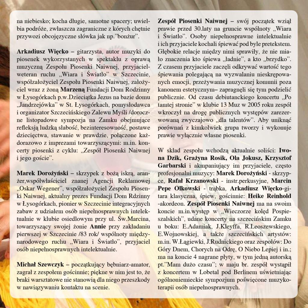 okładka płyty dvd  spektakl Sobotnia gora w Teatrze Polskim i Recital G2