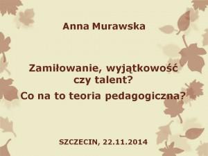 Prezentacja - Anna Murawska